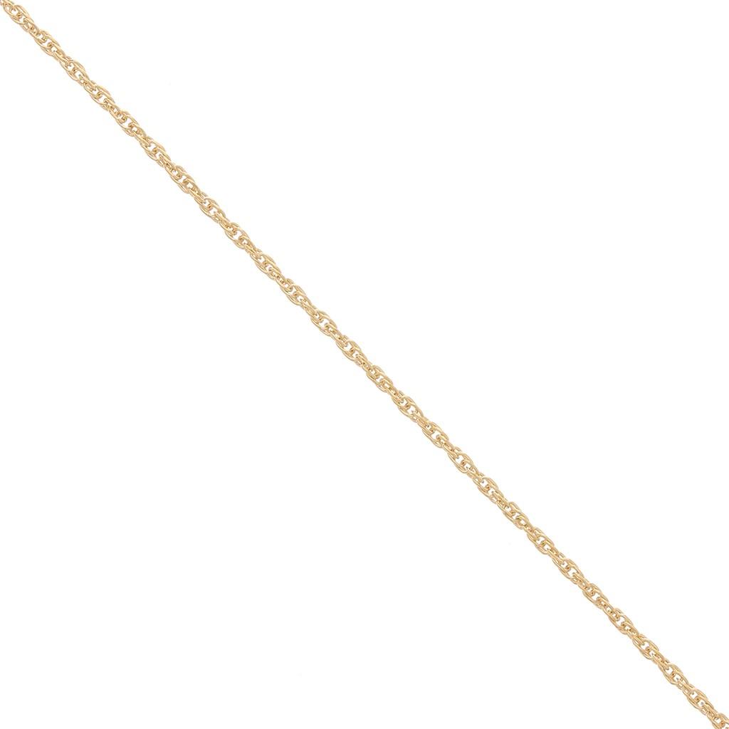 qualità perfetta outlet online nuovo prodotto Catena maglia intrecciata 1.1 mm Placcato oro x50 cm