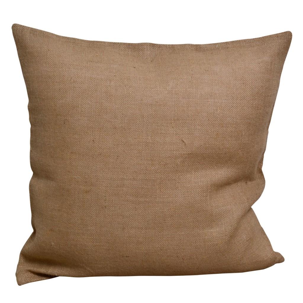 Cucire Cuscino Senza Cerniera federa per cuscino in tela di juta 50x50cm per ricamo, punch needle e  cucito x1