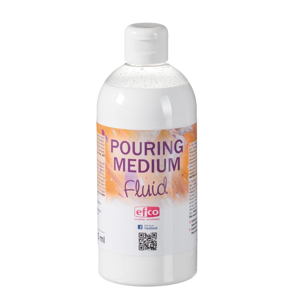 Fluidificante Acrilico Per Pouring Medium Fluido X500 Ml Perles Co