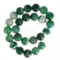 Green Lace Agate 16 mm x1