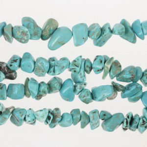 Chips di Howlite Turquoise x cm. 85