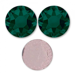 Strass Hotfix Swarovski mm. 4 Emerald x36
