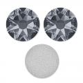 Strass da incollare Swarovski mm. 6 Crystal Silver Night x10