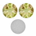 Strass da incollare Swarovski mm. 5 Crystal Luminous Green x36