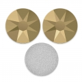 Strass da incollare Swarovski mm. 4 Crystal Metallic Light Gold x36