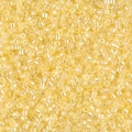 Miyuki Delicas 11/0 DB0053 - Light Yellow Lined Crystal AB