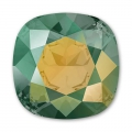 Cabochon Swarovski  4470 mm. 12 Crystal Iridescent Green x1
