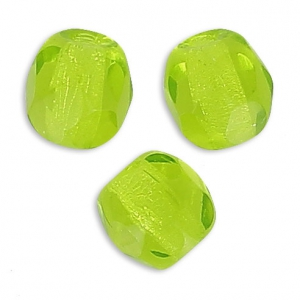 Sfaccettate mm. 4 Yellow Peridot x50