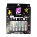 Kit tatuaggi paillettes