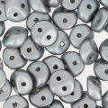ES-O® Beads 5 mm Pastel Light Grey/Silver x5g