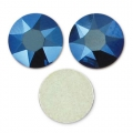 Strass da incollare Swarovski mm. 6 Crystal Metallic Blue x10