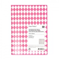 Paper Poetry Notebook rombi 105x140 mm Rosa Fluo x1