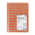 Paper Poetry Notebook rombi 105x140 mm Arancione Fluo x1