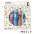 Set di pittura 3D - Paillettes x6