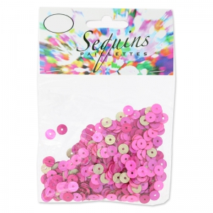 Set di paillettes mm. 6 Rosa Mix x10g