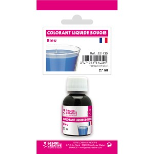 Colorante liquido per candele Blu x27ml