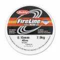 Filo Fireline nylon intrecciato mm. 0.15 (8LB) Smoke Grey x m. 45