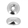 Stopper Swarovski BeCharmed 81000 12 mm rodiato x1