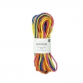 Parachute Cords 2 mm Fluo Mix 5 x 3m