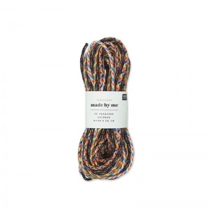Parachute Cords 2 mm Multicolore 5 x 3m