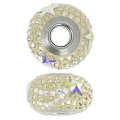 BeCharmed Pavé Swarovski 81922 mm. 14 Crystal Golden Sha/Crystal AB x1