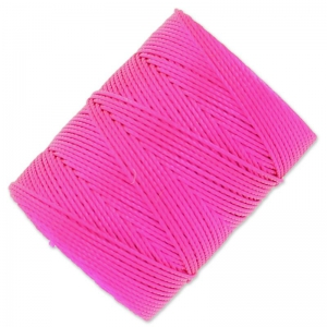 Filo C-Lon Beading Cord 0,50 mm Fluo Hot Pink x 82 m
