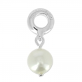 Pearl Charms Swarovski 87000 mm. 8 White Pearl x1