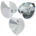 Cuori Swarovski 6228 mm. 10,3x10 Crystal Light Chrome x6