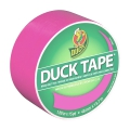 Adesivo Duck Tape  uni Fluo 48 mm Neon Pink x13m