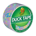Adesivo Duck Tape fantasia 48 mm Purple Paisley x9m