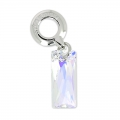 Queen Baguette Charms Swarovski 87007 mm. 13.5 Crystal AB x1