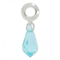Classic Charms Swarovski 87001 mm. 15 Light Turquoise x1