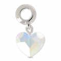 Love Charms Swarovski 87004 mm. 12 Crystal AB x1
