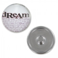 Bottone pressione a clips dream 18 mm rodiato