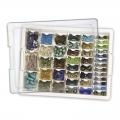 Assorted Bead Storage Tray - Tavola e assortimento di scatole