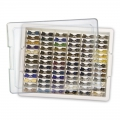 Tiny Container Bead Storage Tray - Tavola e 78 mini-scatole
