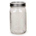 Vaso Mason Jar Ball 32 oz Wide Mouth x1