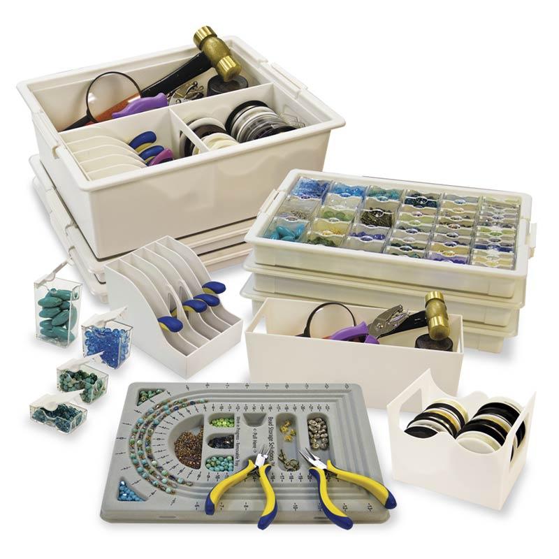 Large containers grandi scatole portaoggetti x3 perles - Scatole portaoggetti ...