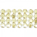 Swarovski Crystal Mesh 40001 4 fili mm.11 Crystal Golden Shadow x5cm