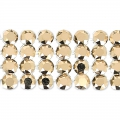 Swarovski Crystal Mesh 40001 4 fili mm.11 Crystal Rose Gold x5cm