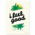 Cartolina Fifi Mandirac 15x10.5 cm I Feel Good x1