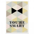 Cartolina Fifi Mandirac 15x10.5 cm You're Smart x1