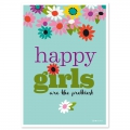 Cartolina Fifi Mandirac 15x10.5 cm Happy Girls x1