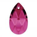 Lacrima Swarovski 6106 mm. 22 Ruby x1