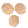 Sfaccettate mm. 6 Opaque Light Peach Silk Mat x25
