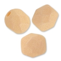 Sfaccettate mm. 4 Opaque Light Peach Silk Mat x50
