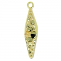 Pavé Pendente Swarovski 67482 20 mm Crystal Golden Shadow x1