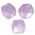 Sfaccettate mm 3 Pastel Light Lilas x50