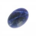 Cabochon ovale mm. 14x10 Sodalite