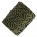 Filo C-Lon Tex 400 Bead Cord mm. 0,90 Green Olive x m. 35